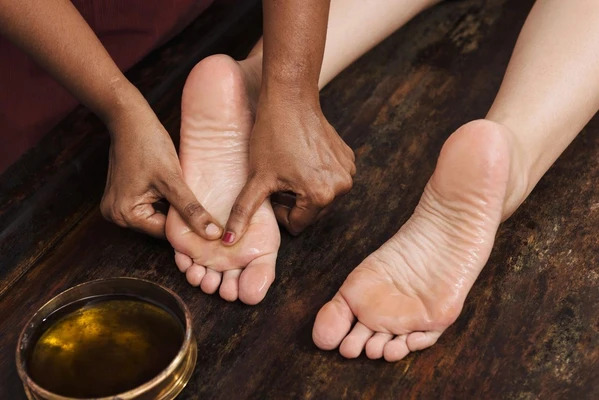 The perfect foot massage